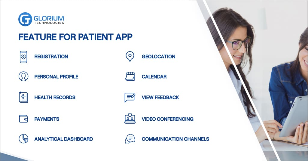 Functions for a Patient app